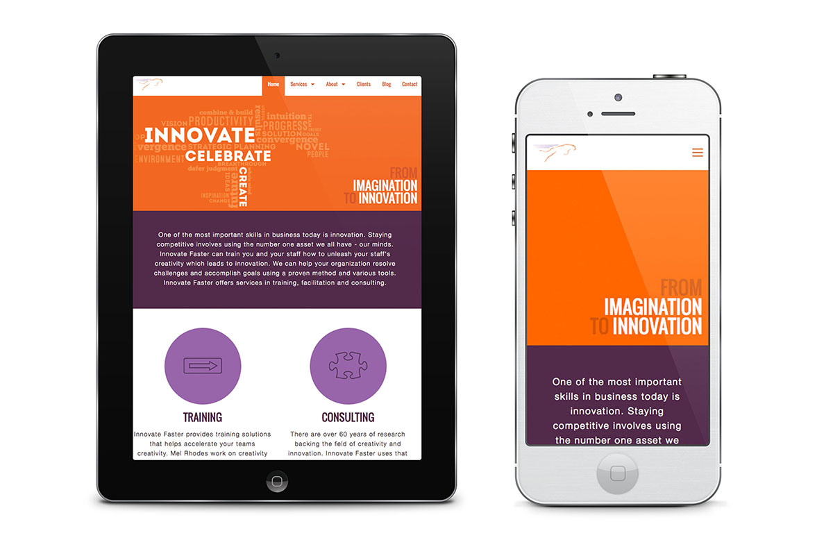 Innovate Faster Website