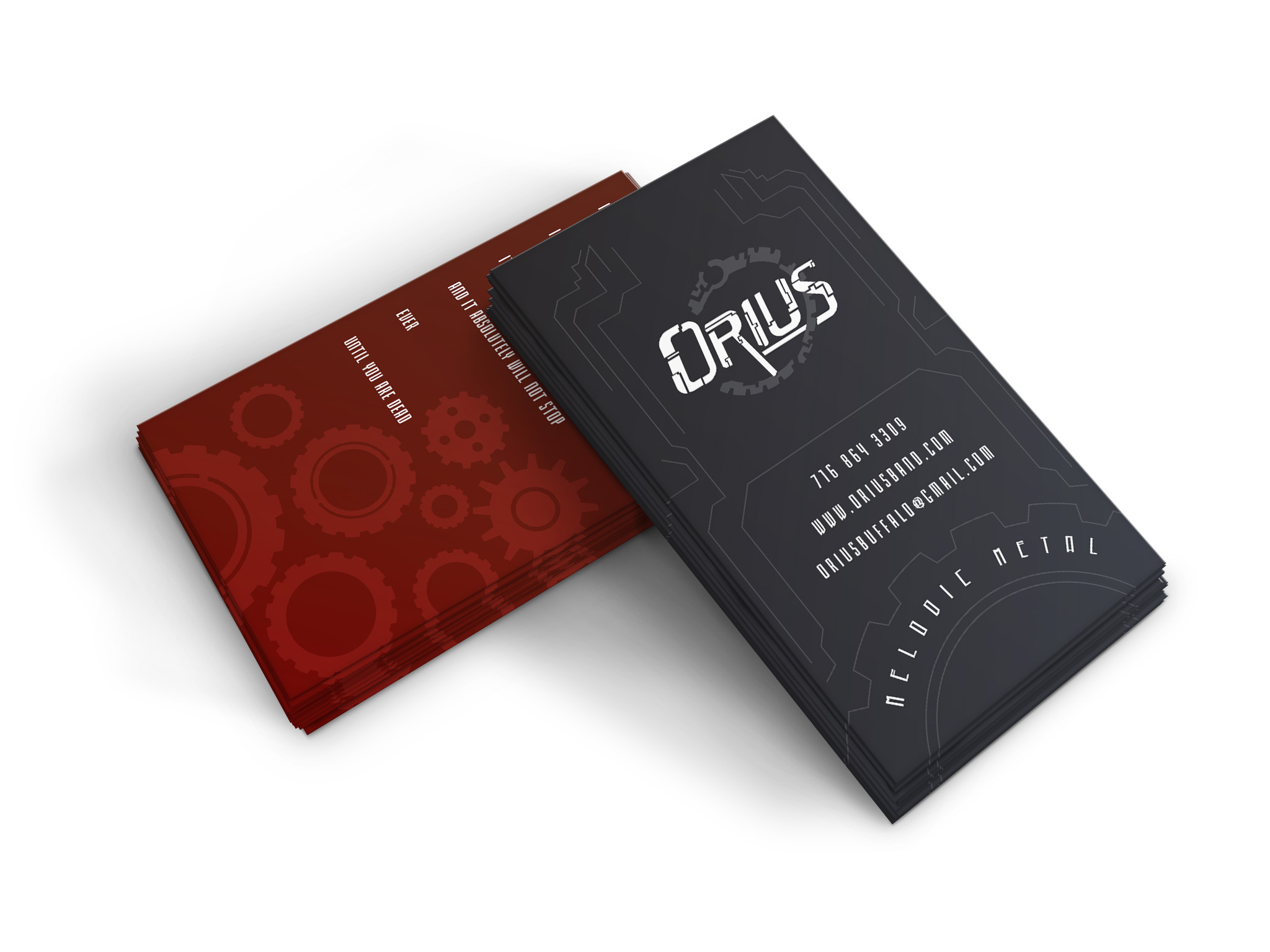 Orius Business Card Mockup