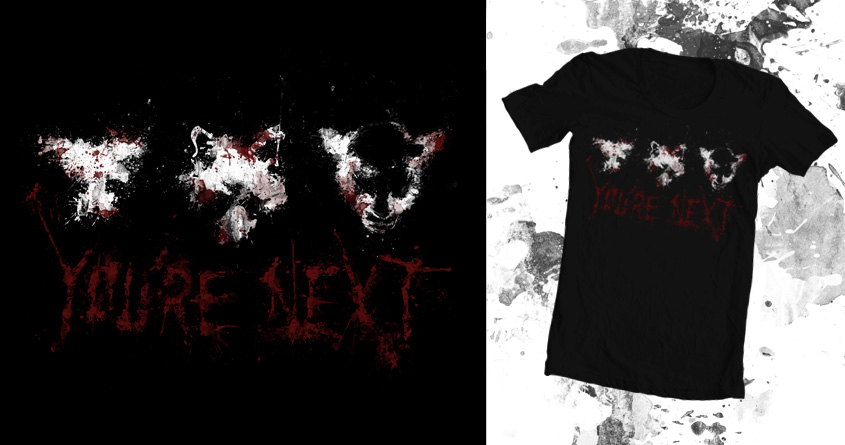 You're Next T-Shirt Mockup